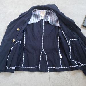 J. Crew Jackets & Coats - J. Crew Navy Double Button Jacket Blazer